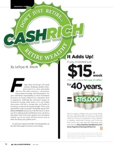 Cash Rich: Retire Wealthy